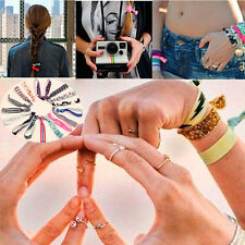 Fashion Hair Tie Rubber Band Ponytail Knot Bracelet Style making Scrunch tool