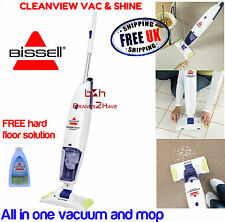 Bissell 30Q8E cleanview vac shine rechargeable aspirateur & spray mop 2 in1
