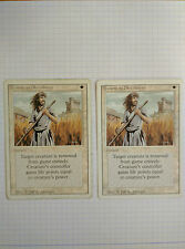 1X SWORDS TO PLOWSHARES ENGLISH - 3RD MTG MAGIC WHITE UNCOMMON X1