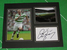 Johan Mjallby Signed Glasgow Celtic FC Mount