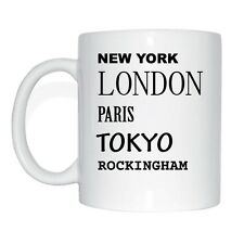 New York, London, Paris, Tokyo, ROCKINGHAM Tasse Kaffeetasse