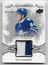 16/17 EXQUISITE COLLECTION ROOKIE PATCH #RPMM Mitch Marner #269/299 2CLR