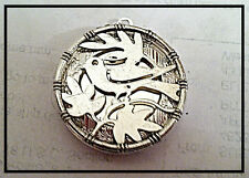 "TREE OF LIFE BIRD OF PEACE Silver Plated Locket on sterling 18"" chain necklace"