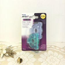 Avent Pacifier Avent Orthodontic Soother Avent Soothie Nipple - Blue&Green 0-3M