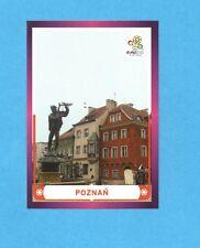 PANINI-EURO 2012-Figurina n.7- POZNAN -NEW-DARK BOARD