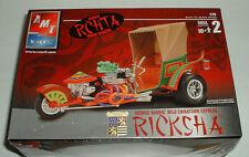 RICKSHA - George Barris Wild Chinatown Express Custom Hot Rod Model Kit New 2002