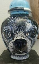 Custom Pet urn for dog ashes Boston Terrier cremation urns pugs burial urn