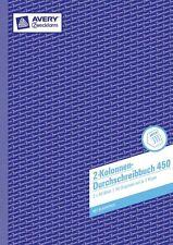 Zweckform 450 2-Kolonnen-Durchschreibebuch 2 x 50 Blatt