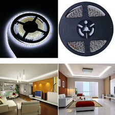 2 X 5M N-Waterproof Bright 10M 3528 600 LED Flexible White Led Strip light + DC