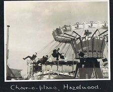Fun Fair Ride at Hazelwood Northern Ireland - Vintage Photograph 1960