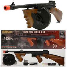 ELECTRIC AIRSOFT GUN AEG RIFLE FULLY LICENSED THOMPSON CHICAGO 1928 TOMMY GUN
