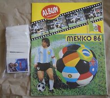 Peru Navarrete 1986 album Mexico ´86 world Cup Soccer + Full Sticker Set