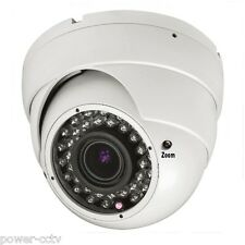 1300TVL 36-IR 1S 2.8-12mm Vari-Focal Zoom Surveillance Dome CCTV Security Camera