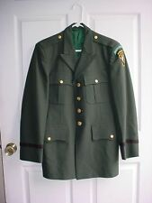 US Army Special Forces Airborne JFK Warfare School Officer Uniform Coat Size 39R