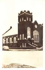 Watertown South Dakota Grace Lutheran Church Real Photo Antique Postcard K29046