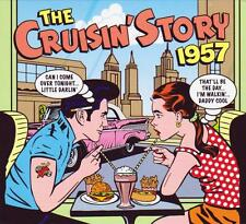 THE CRUISIN' STORY 1957 - 50 ORIGINALS  (NEW SEALED 2CD)