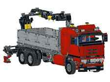 Receta instruction camión scania camión 8258 construiste única MOC lego Technic
