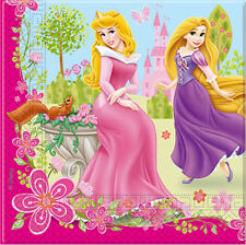 20 Stck Disney Prinzessin Servietten Kindergeburtstag Kinder Party Geburtstag
