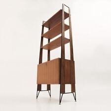 Libreria mobilificio Cicchetti anni '50, italian mid century bookcase 50's
