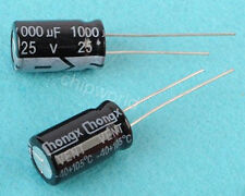 1P 1000uF 25V Radial Electrolytic Capacitor 10x17mm 105°C