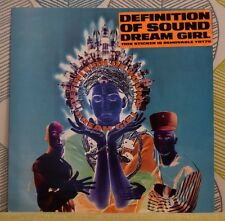 DEFINITION OF SOUND - Dream Girl [Vinyl 12 Inch,1991] UK YRT 70 Techno *EXC