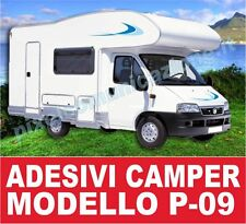 KIT ADESIVI CAMPER P09 STICKERS TUNING ARCA LAIKA MC LOUIS ELNAGH RIMOR IVECO