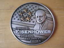 "Dwight D. Eisenhower National Security Series Medal, 2006, 1-3/4"" OD"