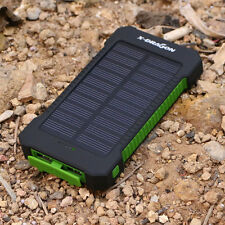 For Smartphone LG G2 20000mAh Dual USB Portable Charger Solar Juice Power Bank