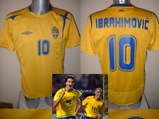 Sweden Umbro Medium ZLATAN IBRAHIMOVIC Shirt Jersey Trikot Football Soccer PSG