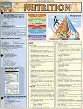 Nutrition Laminate Reference Chart (Quickstudy: Health)