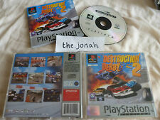 Destruction Derby 2 PS1 (COMPLETE) racing car platinum Sony PlayStation