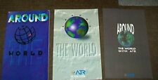 ATR ROUND THE WORLD AIRLINER BROCHURES. 1990/1993 & 1994 (3)