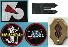 Farscape Patch & Badge Collection: Farscape 1, IASA, Peacekeeper Logo, Comm Set