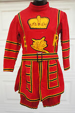 Custom Made TV Prop Queens Body Guard of the Yeomen of the Guard Costume child