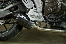 Carbon Fiber Standard Mount Slip On Exhaust M4 YA6714 15-16 Yamaha FZ-07