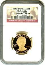2009-W Julia Tyler $10 NGC PR 70 DCAM - First Spouse .999 Gold