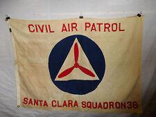 flag684 WW2 US CAP Civil Air Patrol Santa Clara Squadron flag