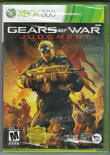 *NEW* Gears of War: Judgment (Microsoft Xbox 360, 2013)
