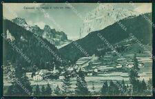 Trento Canazei cartolina VK0461