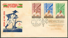 1964 Philippines PRES. MACAPAGAL AGRICULTURAL LAND REFORM STAMPS First Day Cover