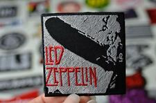LED ZEPPLIN Mothership Silver 70's Rock Classic Music Patch Iron/Sew On Patches