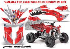 Amr racing décor Graphic Kit ATV yamaha yfz 450 04-14,yfz 450r p40 warhawk B
