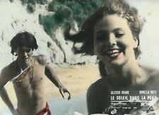 ORNELLA MUTI  ALESSIO ORANO IL SOLE NELLA PELLE 1971 VINTAGE LOBBY CARD #2
