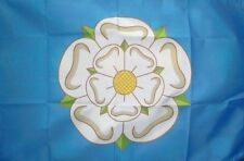5' x 3' Yorkshire Flag White Rose English County Flags Banner