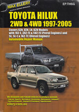 Toyota Hilux Pickup Truck and 4Runner Repair Manual Ellery 2000 1999 1998 1997