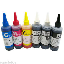 6 COLOR Compatible INK Set for Canon PIXMA MG6120 MG6220 MG8120 MG8220
