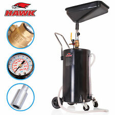 18 GALLON PORTABLE AIR PNEUMATIC WASTE OIL GARAGE EXTRACTOR DRAIN DRAINER TANK