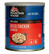 1 Can -Chicken Cooked- Diced- Mountain House Freeze Dried Emergency Food Supply
