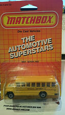 Matchbox MB47 School Bus Made in China Boyardee (9997)