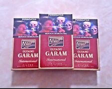 3 pack Gudang Garam International Filter Kretek Cigarettes